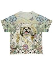 Shih Tzu 3D Dog All-over T-Shirt back