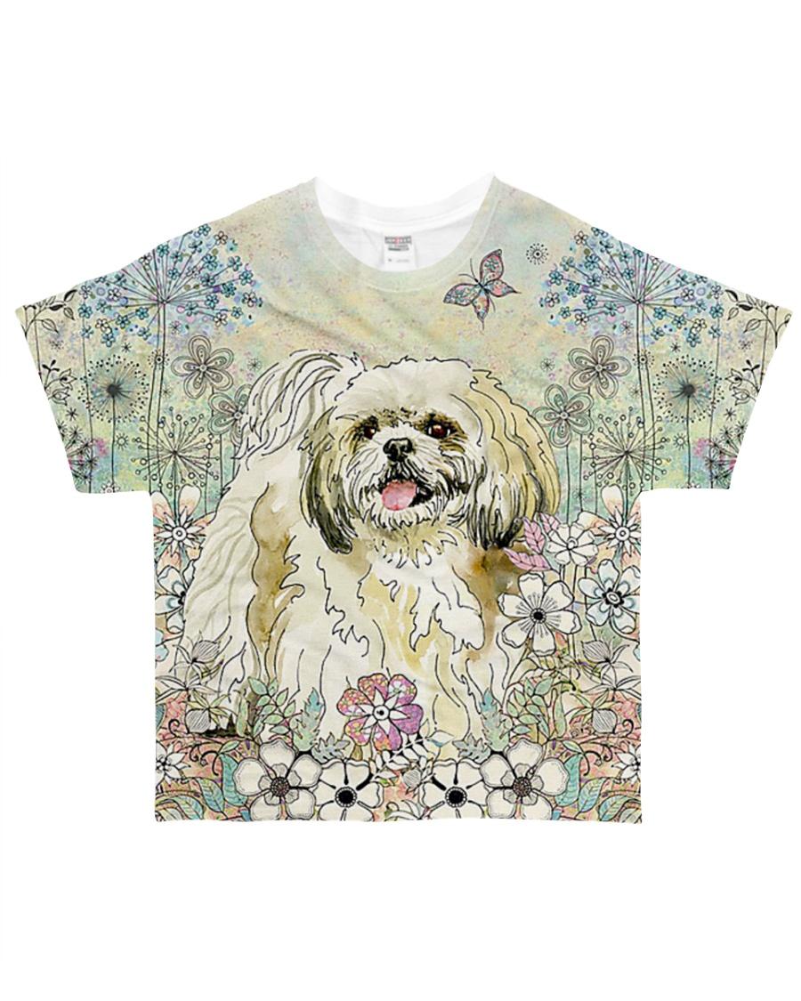 Shih Tzu 3D Dog All-over T-Shirt