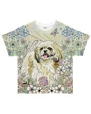 Shih Tzu 3D Dog All-over T-Shirt front