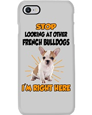 French Bulldogs I'm Here Phone Case thumbnail