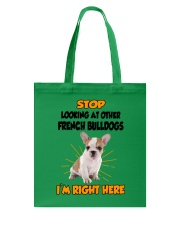 French Bulldogs I'm Here Tote Bag thumbnail