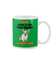 French Bulldogs I'm Here Mug thumbnail