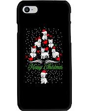 West Highland White Terrier Christmas Phone Case thumbnail