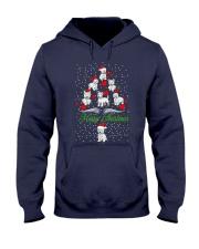 West Highland White Terrier Christmas Hooded Sweatshirt thumbnail
