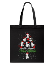 West Highland White Terrier Christmas Tote Bag thumbnail