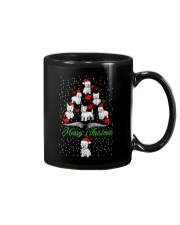 West Highland White Terrier Christmas Mug thumbnail