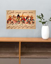 Horse God Says You Are Poster 17x11 Poster poster-landscape-17x11-lifestyle-24