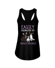 Easily Distracted By French BulldogS Ladies Flowy Tank thumbnail