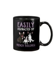 Easily Distracted By French BulldogS Mug thumbnail