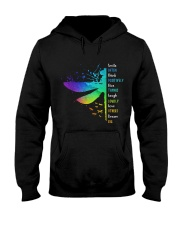 Dragonfly - Smile Often Hooded Sweatshirt thumbnail