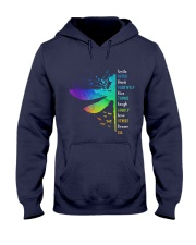 Dragonfly - Smile Often Hooded Sweatshirt front