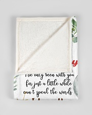 """To My Mummy I've Only Been With You Elephant Small Fleece Blanket - 30"""" x 40"""" aos-coral-fleece-blanket-30x40-lifestyle-front-17"""