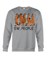 Horse Ew People Crewneck Sweatshirt thumbnail