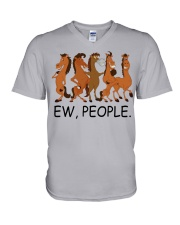 Horse Ew People V-Neck T-Shirt thumbnail
