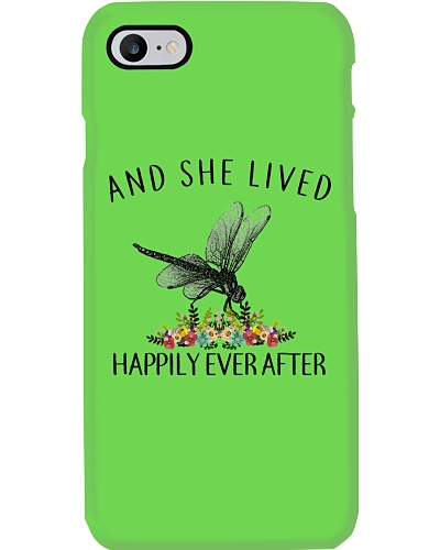 Dragonfly Lived Happily
