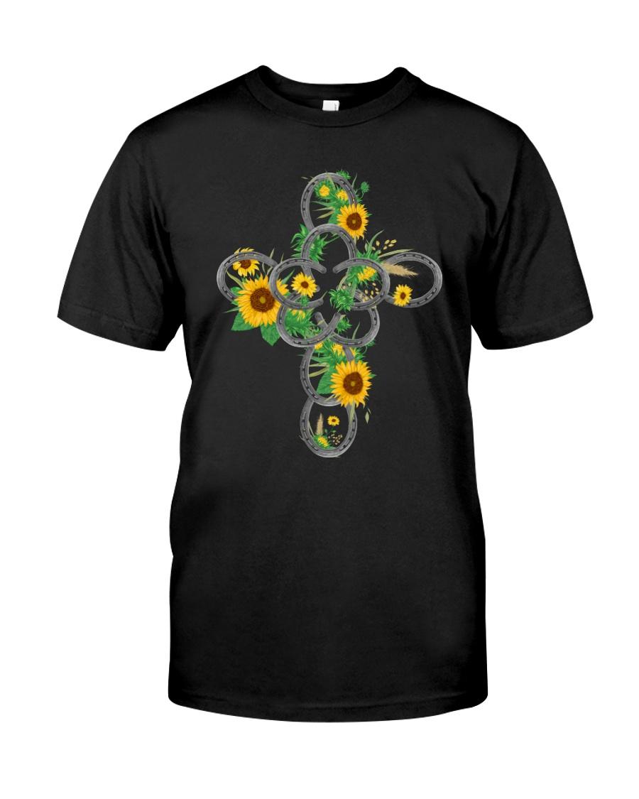 Horse Flower Classic T-Shirt