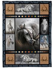 "Horse  Funny Blanket Beauty Graphic Design Large Fleece Blanket - 60"" x 80"" front"