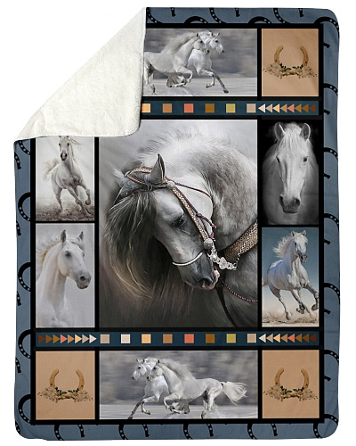 Horse  Funny Blanket Beauty Graphic Design