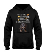 Dachshund - I'll Be Watching You Hooded Sweatshirt front