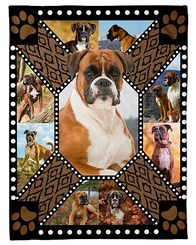 Boxer Funny Blanket Beauty Graphic Design