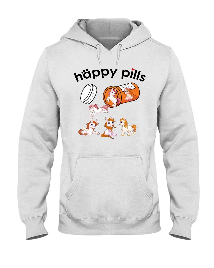 Horse - Happy Pills Hooded Sweatshirt