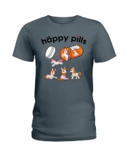 Horse - Happy Pills Ladies T-Shirt tile