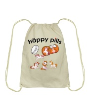 Horse - Happy Pills Drawstring Bag tile