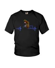 HORSE Heartbeat Youth T-Shirt thumbnail