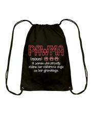 Dog Pawma Drawstring Bag thumbnail