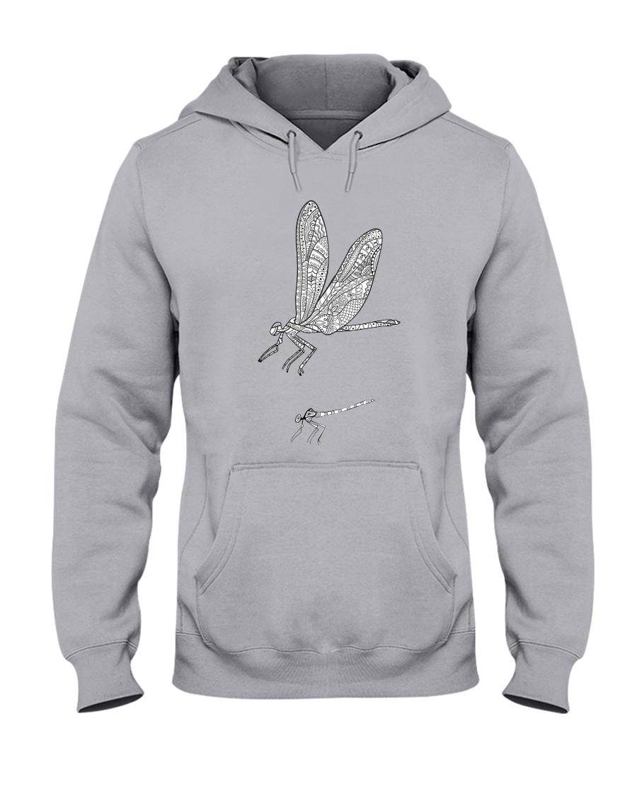 Dragonfly Beauty Hooded Sweatshirt