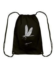 Dragonfly Beauty Drawstring Bag thumbnail
