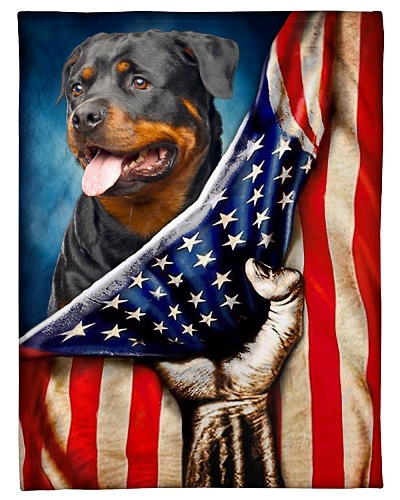 Rottweiler Funny Blanket Flag Graphic Design