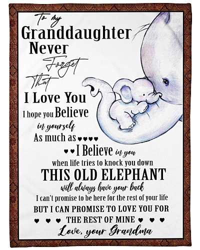 Elephant To My Granddaughter