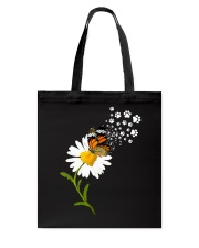 Dog Daisy Butterfly Tote Bag thumbnail