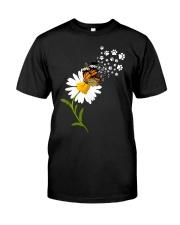Dog Daisy Butterfly Classic T-Shirt thumbnail