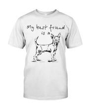 My best friend is Chihuahua  Classic T-Shirt thumbnail