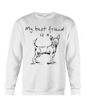 My best friend is Chihuahua  Crewneck Sweatshirt thumbnail