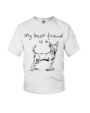 My best friend is Chihuahua  Youth T-Shirt thumbnail
