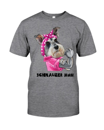 Schnauzer Mom Power