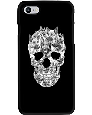 French Bulldog Skull Phone Case thumbnail