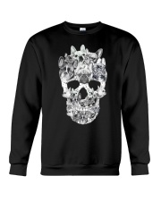 French Bulldog Skull Crewneck Sweatshirt tile