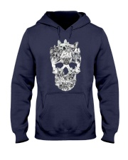 French Bulldog Skull Hooded Sweatshirt thumbnail