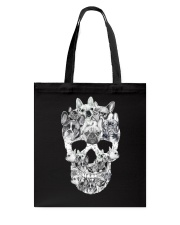 French Bulldog Skull Tote Bag thumbnail