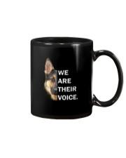 German Shepherd We Are Their Voice Mug thumbnail