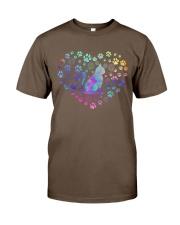 Cat Heart Classic T-Shirt front
