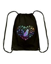 Cat Heart Drawstring Bag thumbnail
