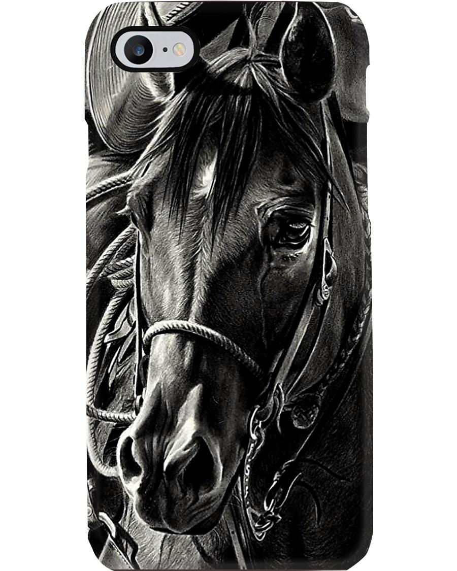 Horse Black Beauty Phone Case