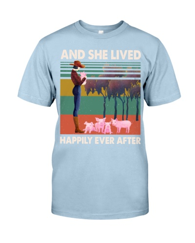 Pigs Pigs And She Lived Happily Ever After