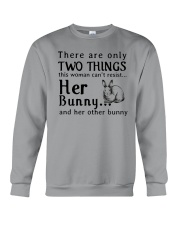 Bunny Two Things Can't Resist Crewneck Sweatshirt thumbnail