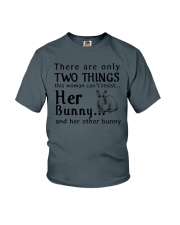 Bunny Two Things Can't Resist Youth T-Shirt thumbnail